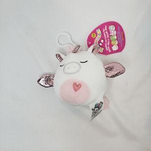 Raquel squishmallow 3.5 inch clip on